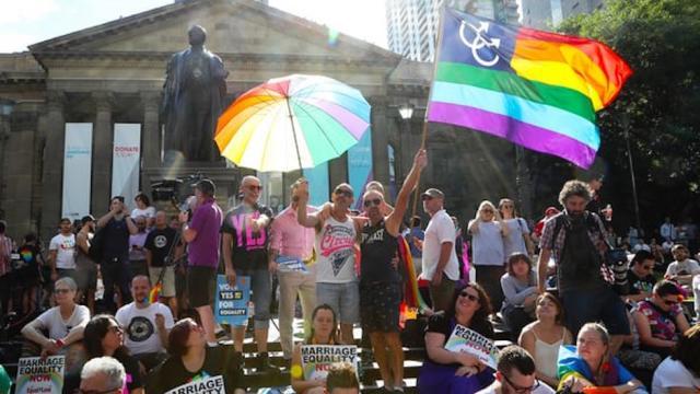 Australia vota sí al matrimonio igualitario