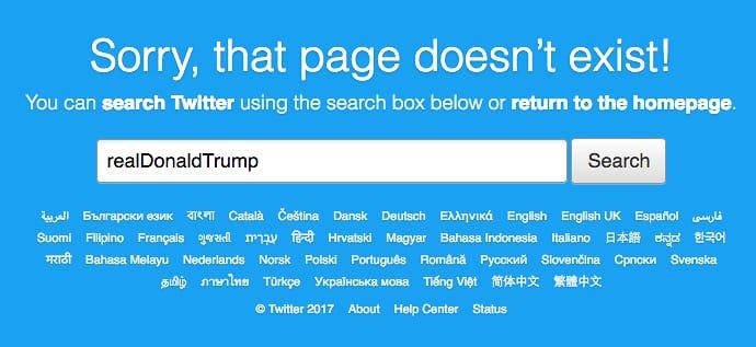 ¿Por qué no nos quedamos en ese mundo sin Twitter de Trump?