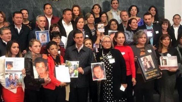 EPN promulga ley de desaparición forzada