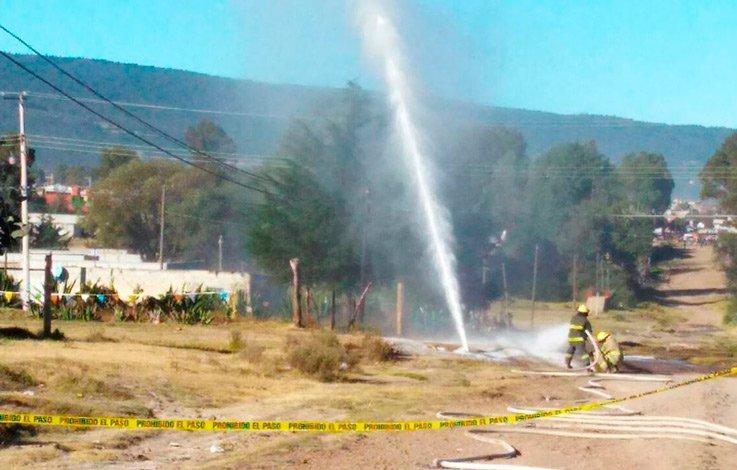 Se registra fuga de hidrocarburos en Hidalgo
