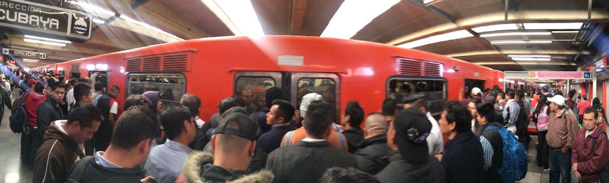 Aumentan los robos en el Metro de la CDMX
