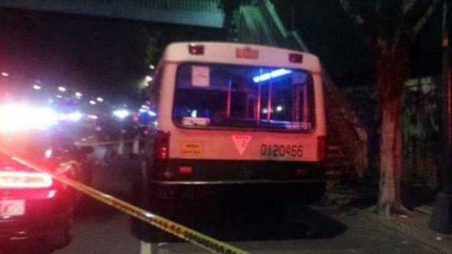 robo con violencia CDMX asaltos microbus