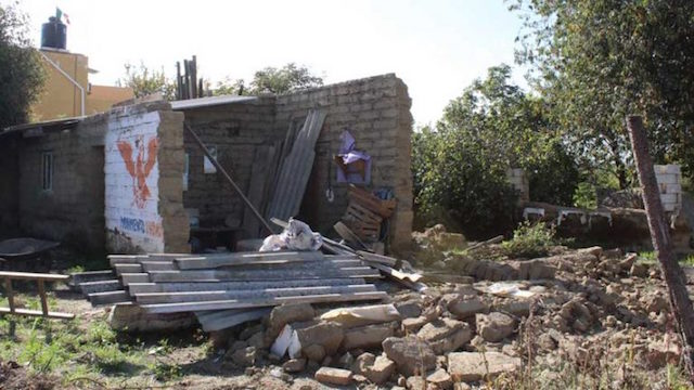 reconstrucción sismos