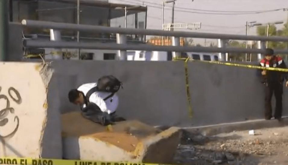 choque mortal en Boulevard Puerto Aéreo con Hangares en CDMX