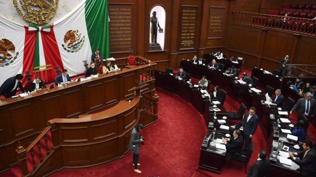congreso de Michoacán aprueba gastos para 2018