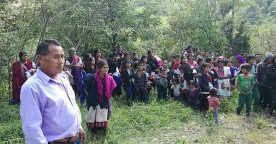 mueren cuatro niños de familias desplazadas en Chalchihuitán