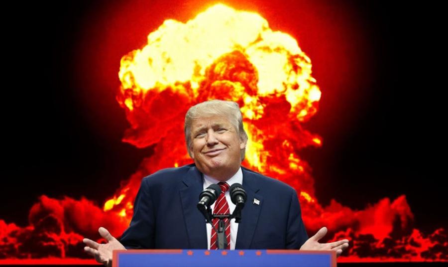Trump y Kim Jung-Un se miden los botones nucleares: cuando un aguerra nuclear es lo mismo que el 'quién la tiene más grande'