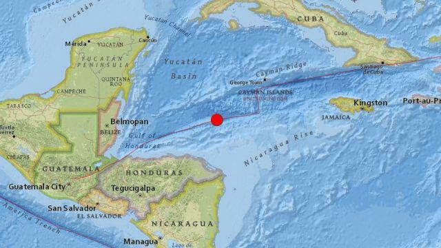 Sismo de 7.8 en Honduras, alerta de Tsunami