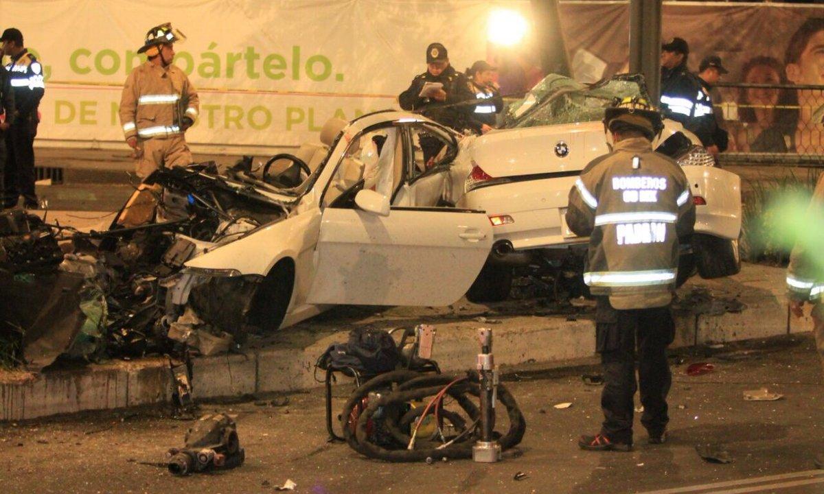 9 años para conductor de BMW que chocó en Reforma
