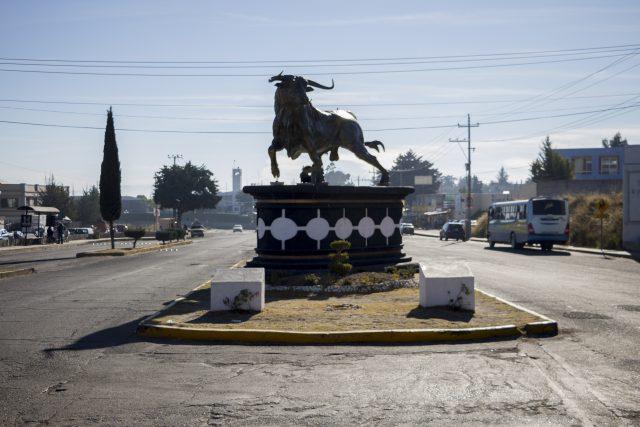 Entrada a Huamantla, Tlaxcala.