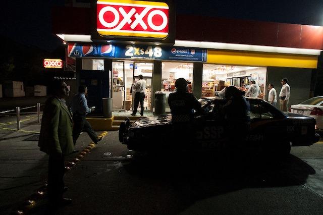 negocio asaltado en Azcapotzalco