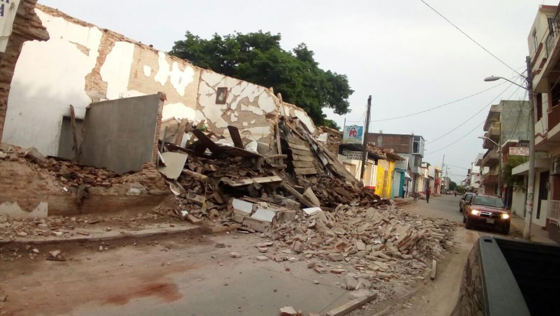 Solicitan declaratoria de emergencia y censo para Ixtepec por sismo del 23 de septiembre