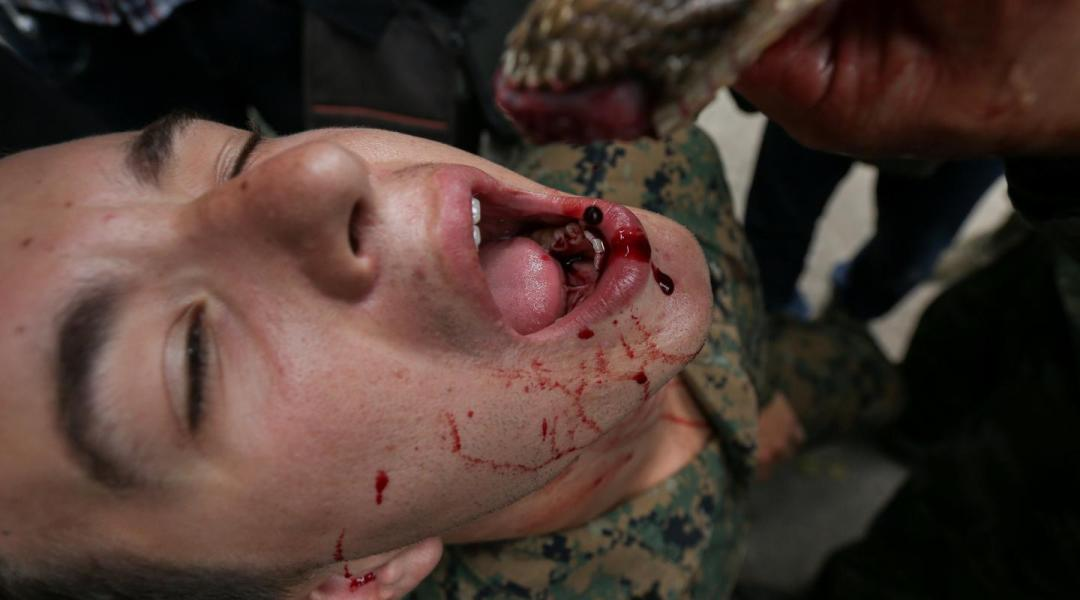 ¿Entrenamiento o tortura? Rituales del ejército tailandés en Corea del Sur