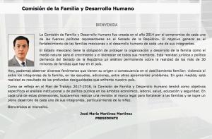 Comisión de la Familia y Desarrollo Humano