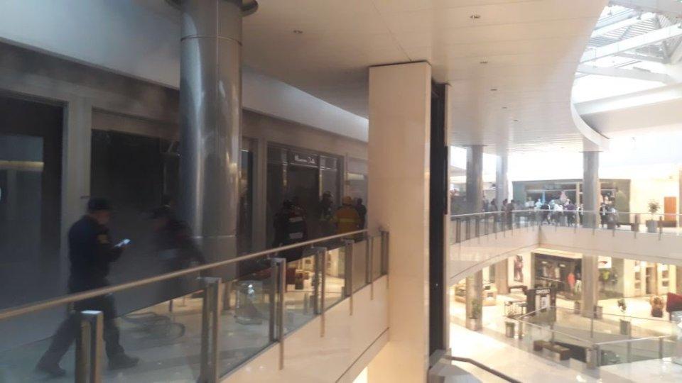 incendio en centro coyoacán en tienda de ropa