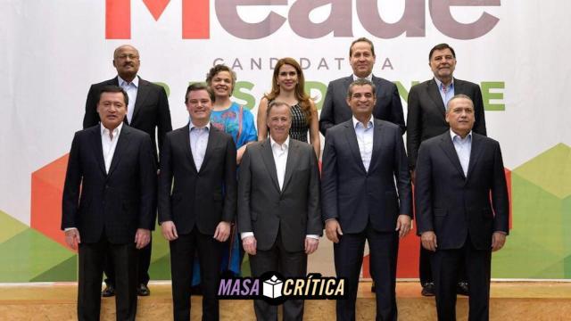 Osorio Chong, Paredes y Beltrones van a la campaña de Meade