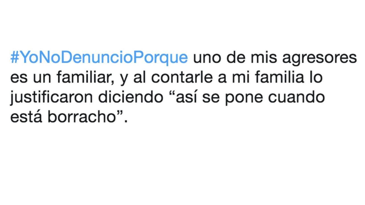 #YoNoDenuncioPorque, mujeres responden a quienes les exigen denunciar