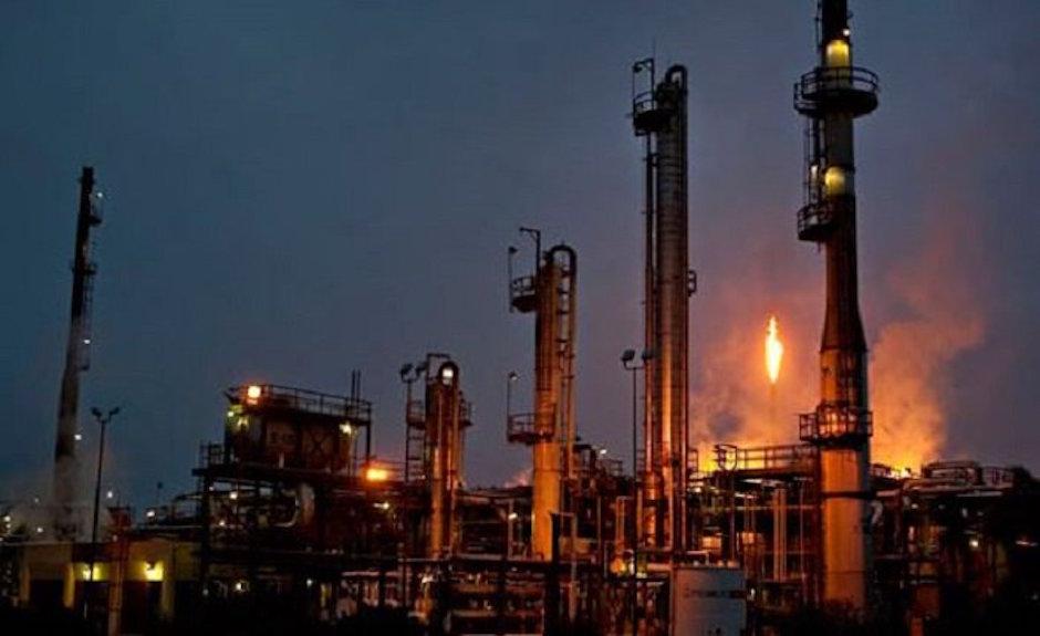 refinerías productividad más baja de su historia