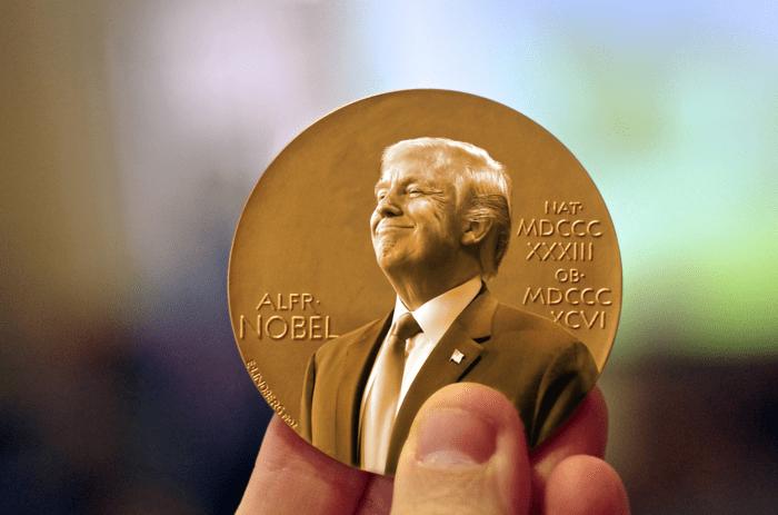 Fake que hayan nominado a Trump al Nobel de la Paz