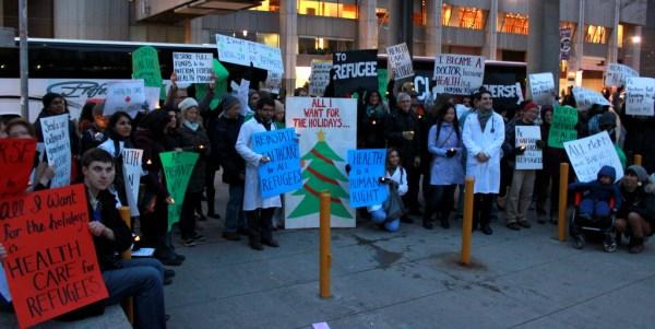 medicos canadienses canada quebec aumento salarial protesta