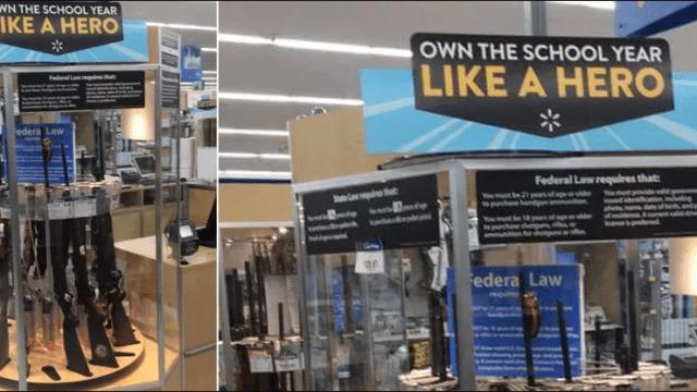 Walmart sube edad mínima para comprar armas a 21 años