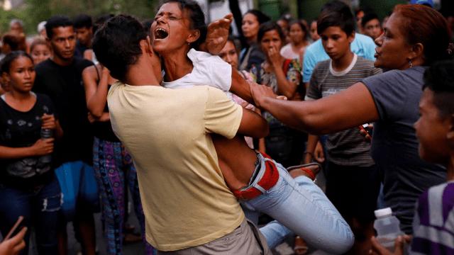 incendio carabobo carcel venezuela muertos