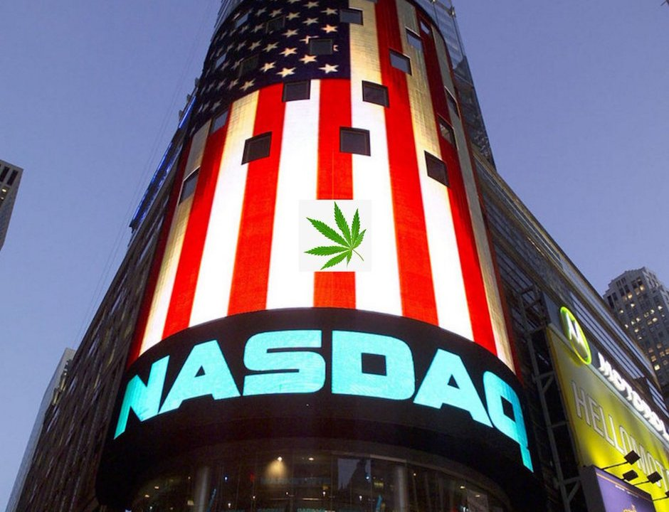 Empresa canadiense marihuana un éxito en Nasdaq