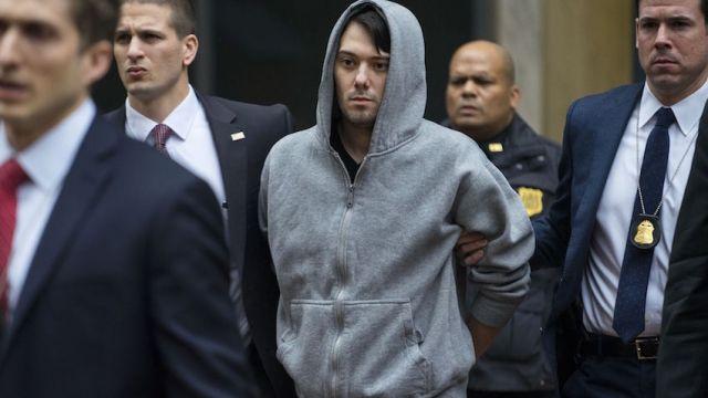 Martin Shkreli condenado a siete años de prisión