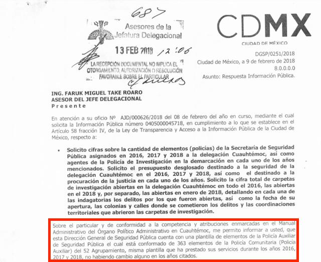Policía de CDMX teme que haya más delincuentes que oficiales