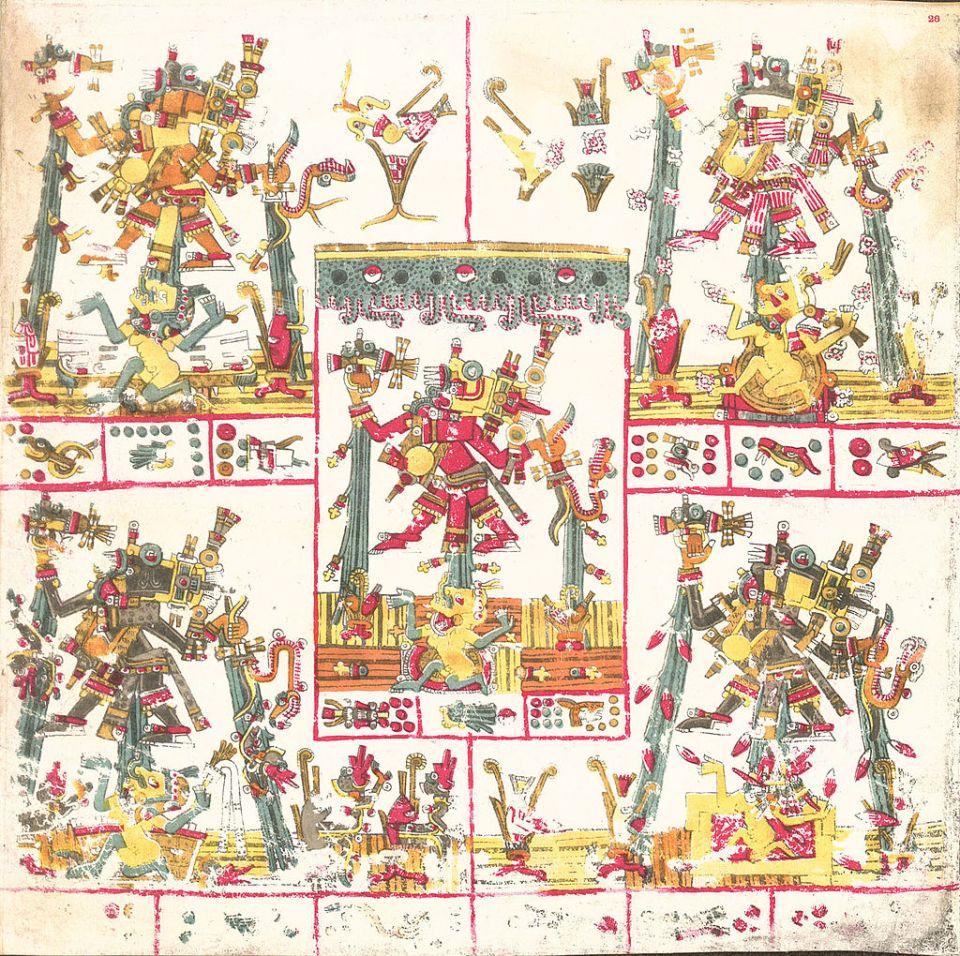 Tlaloques, deidades mexicas de la lluvia, el trueno y el rayo
