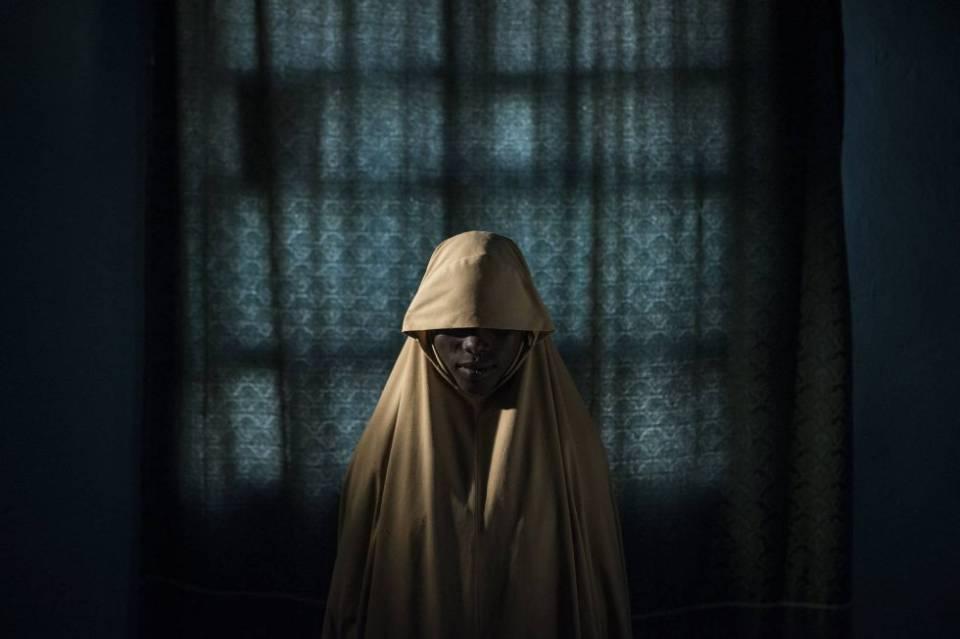 Aisha, de 14 años, fue secuestrada por Boko Haram
