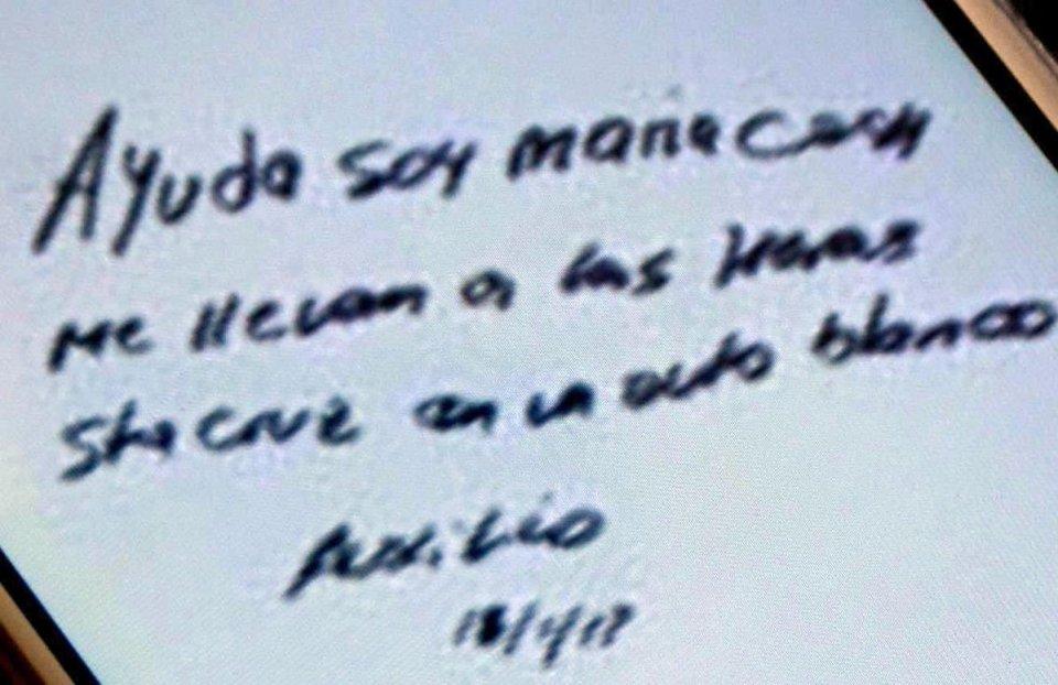 María Cash Testigo El Macho Argentina