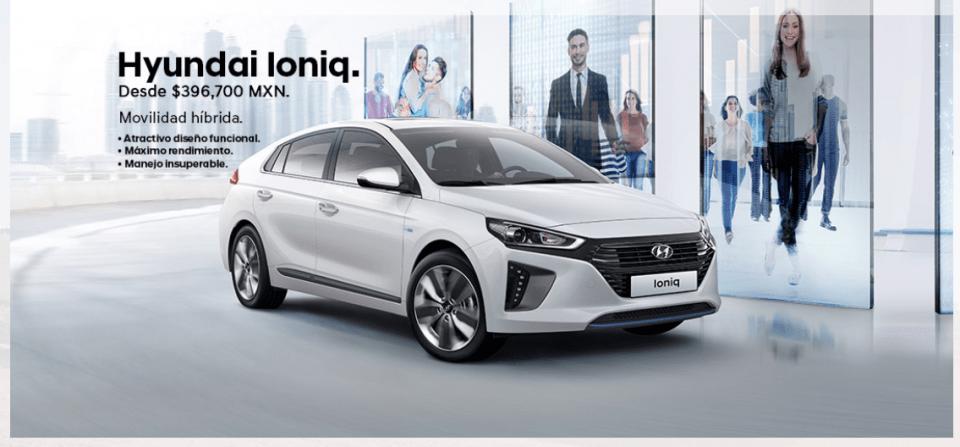 Hyundai Ionic, auto elegido por Meade para grabar spots