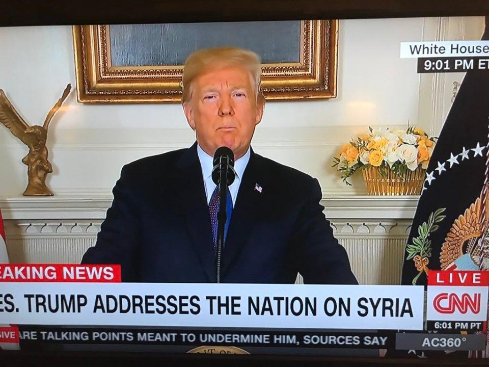 Trump Ataque Siria Estados Unidos rusia