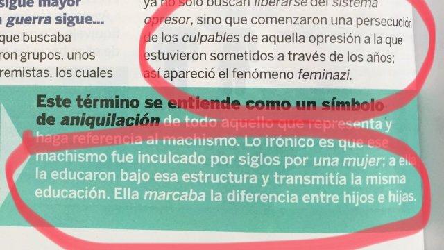 Mónica Castilla Machismo Feminazis TvNotas mujeres