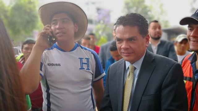 Embajador Honduras Caravana Viacrucis Migrante CDMX