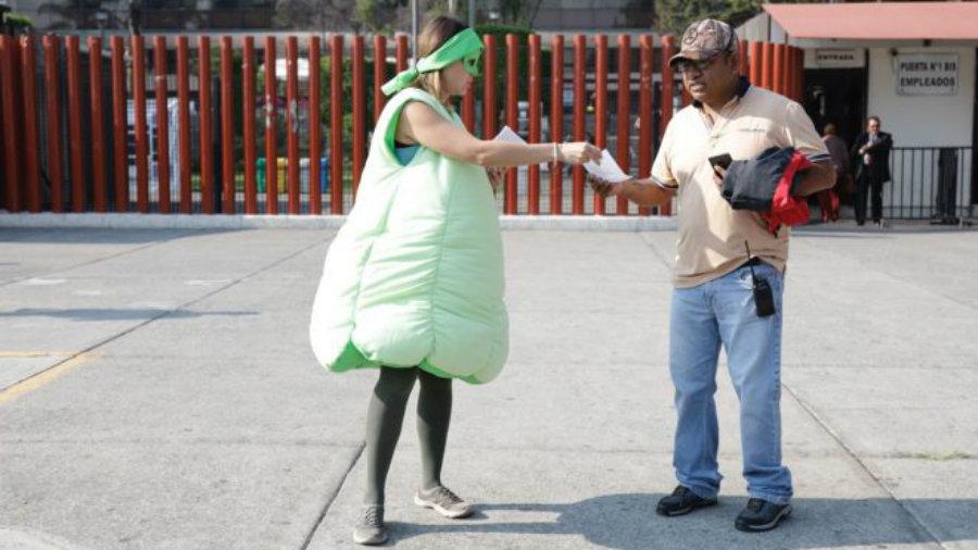 La #LeyChayote ya tiene su carrito para recoger 'fierro viejo' electoral