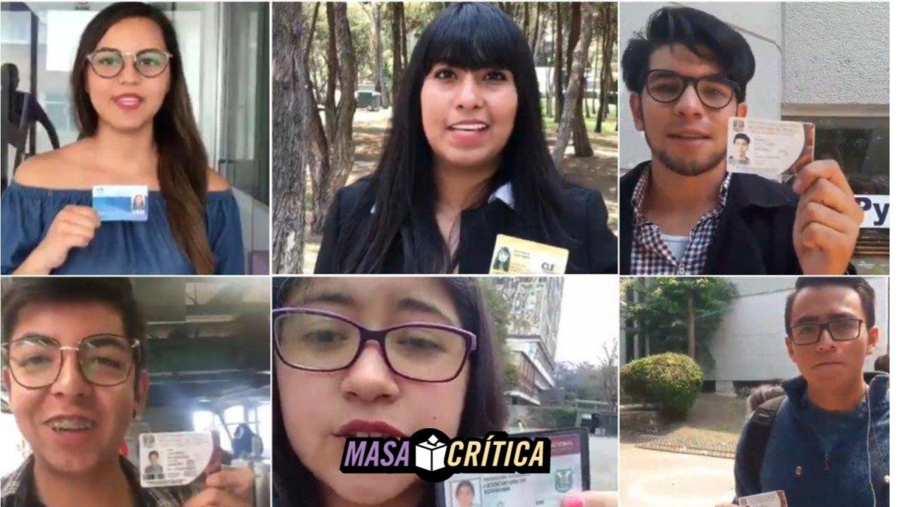 AMLO #UniversitariosConAMLO México elecciones Twitter hashtag