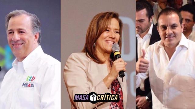 Meade, Zavala y el 'Cuau' pidieron seguridad al INE para campañas