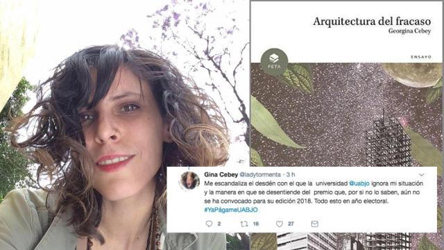 Cebey denuncia a UABJO por no pagar Premio Nacional José Vasconcelos