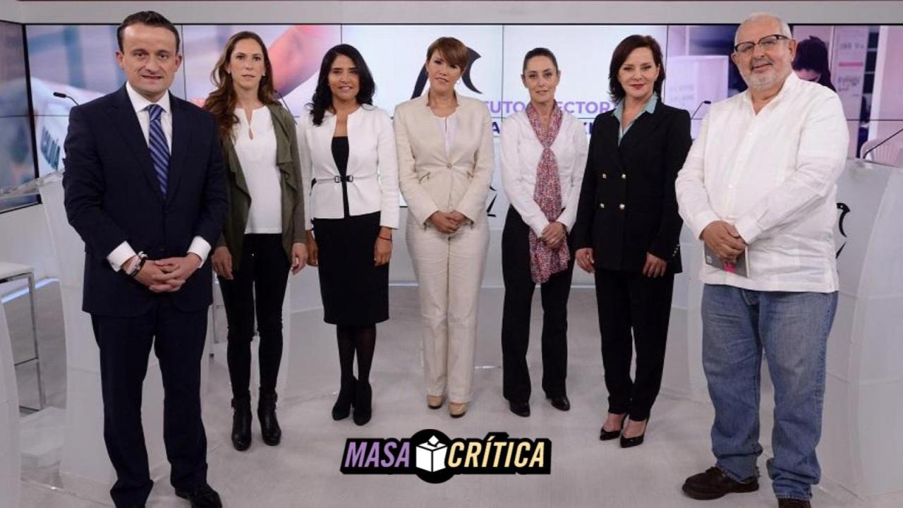 Primer debate para la CDMX: candidatos y propuestas
