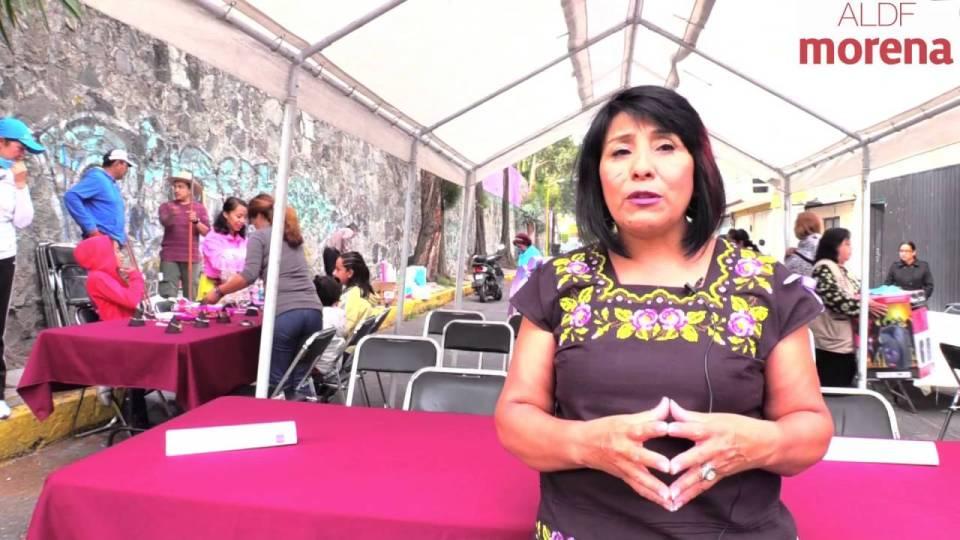 Ana María Rodríguez, asambleísta de Morena y candidata