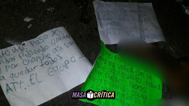 'Lo dijo El Bronco': narcomensaje sobre desmembrado en Acapulco