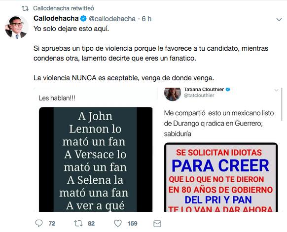 Callodehacha defiende a Ricardo Alemán