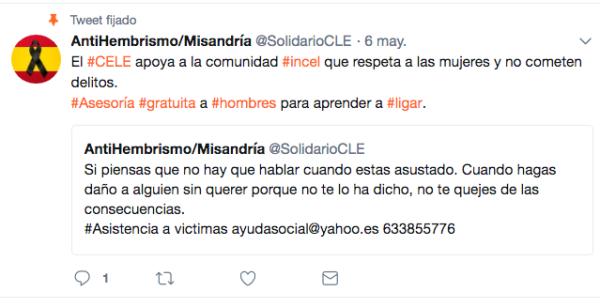 Incel movimiento machismo machistas España toronto