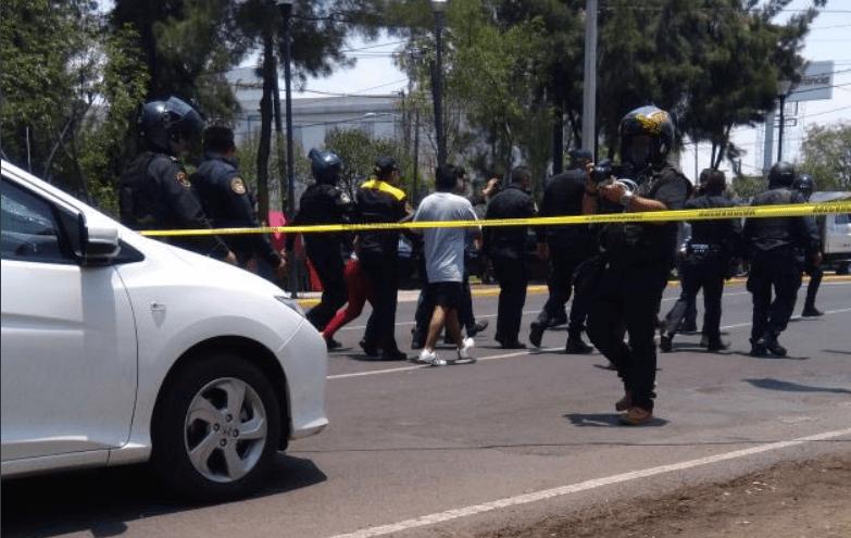 Policía Federal detiene robo y mata a ladrón en Iztacalco