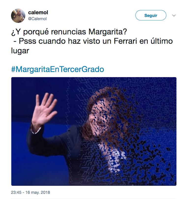 Margarita Zavala en Tercer Grado