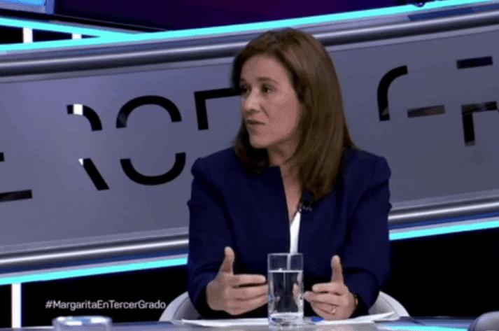 Así fue la entrevista con Margarita Zavala en Tercer Grado, como excandidata