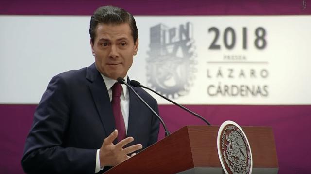 'No aprecian los avances' quienes hablan de tragedia, dice EPN sobre su sexenio