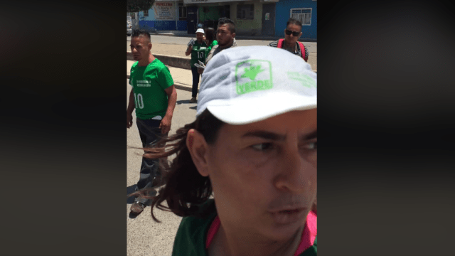 Candidata del PVEM transmite homicidio en Guanajuato